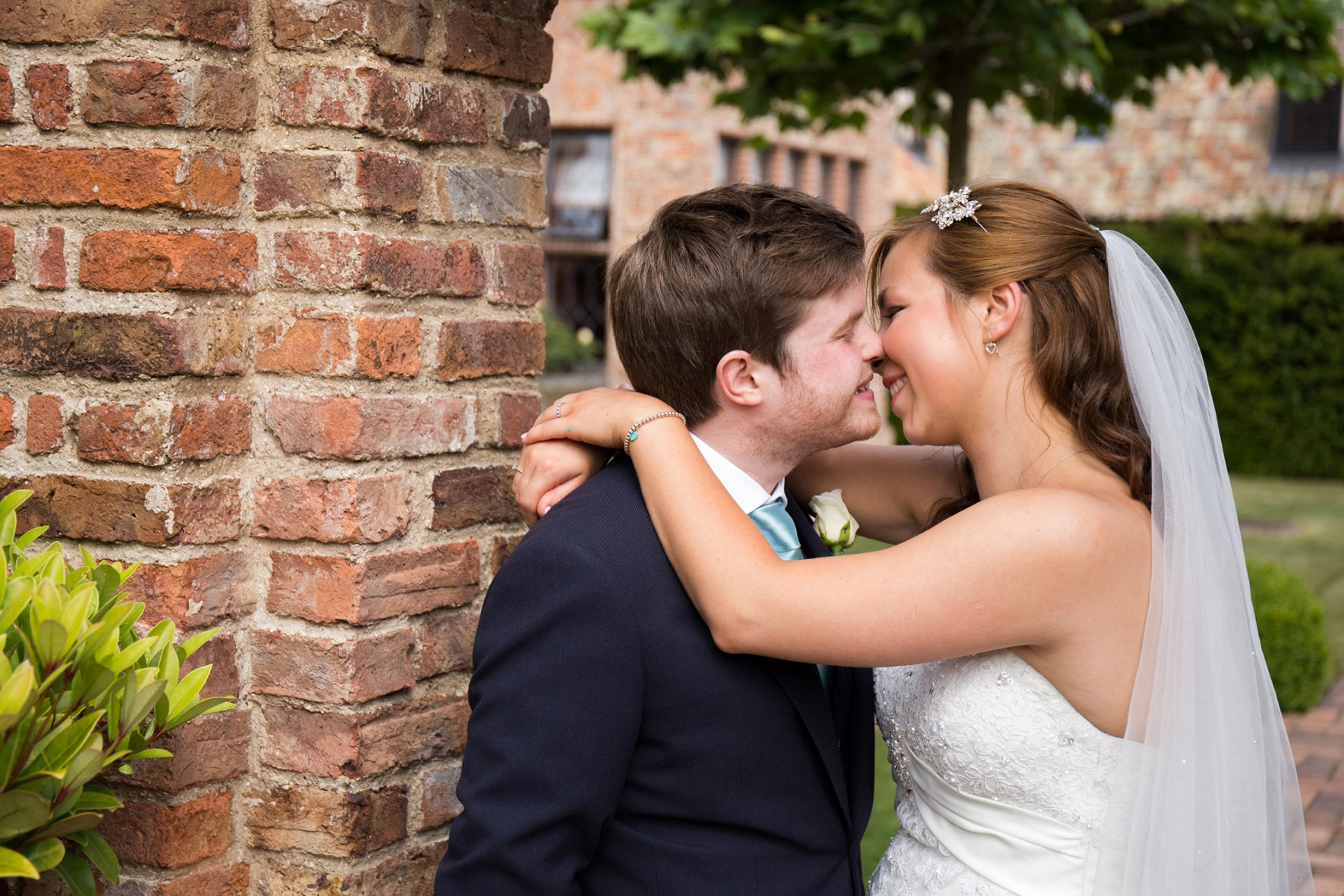 The Old Hall Ely Wedding Photographer bride and groom