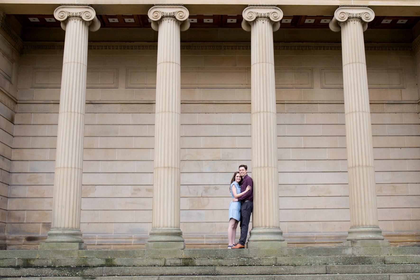 Rosie and Matt - Pre-Wedding Weston Park Sheffield