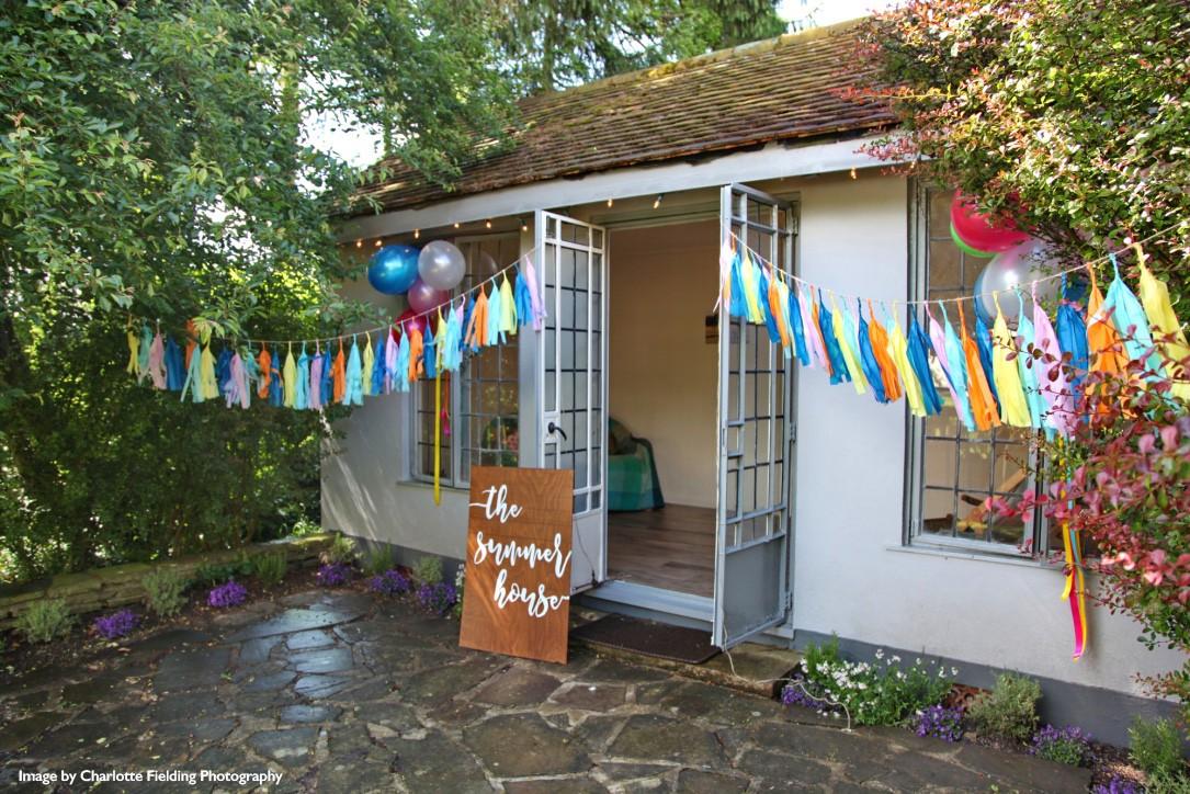 summer house garden party
