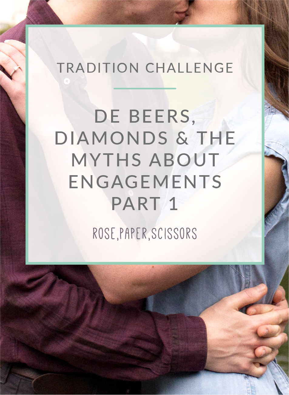De Beers, diamonds and the myths about engagements
