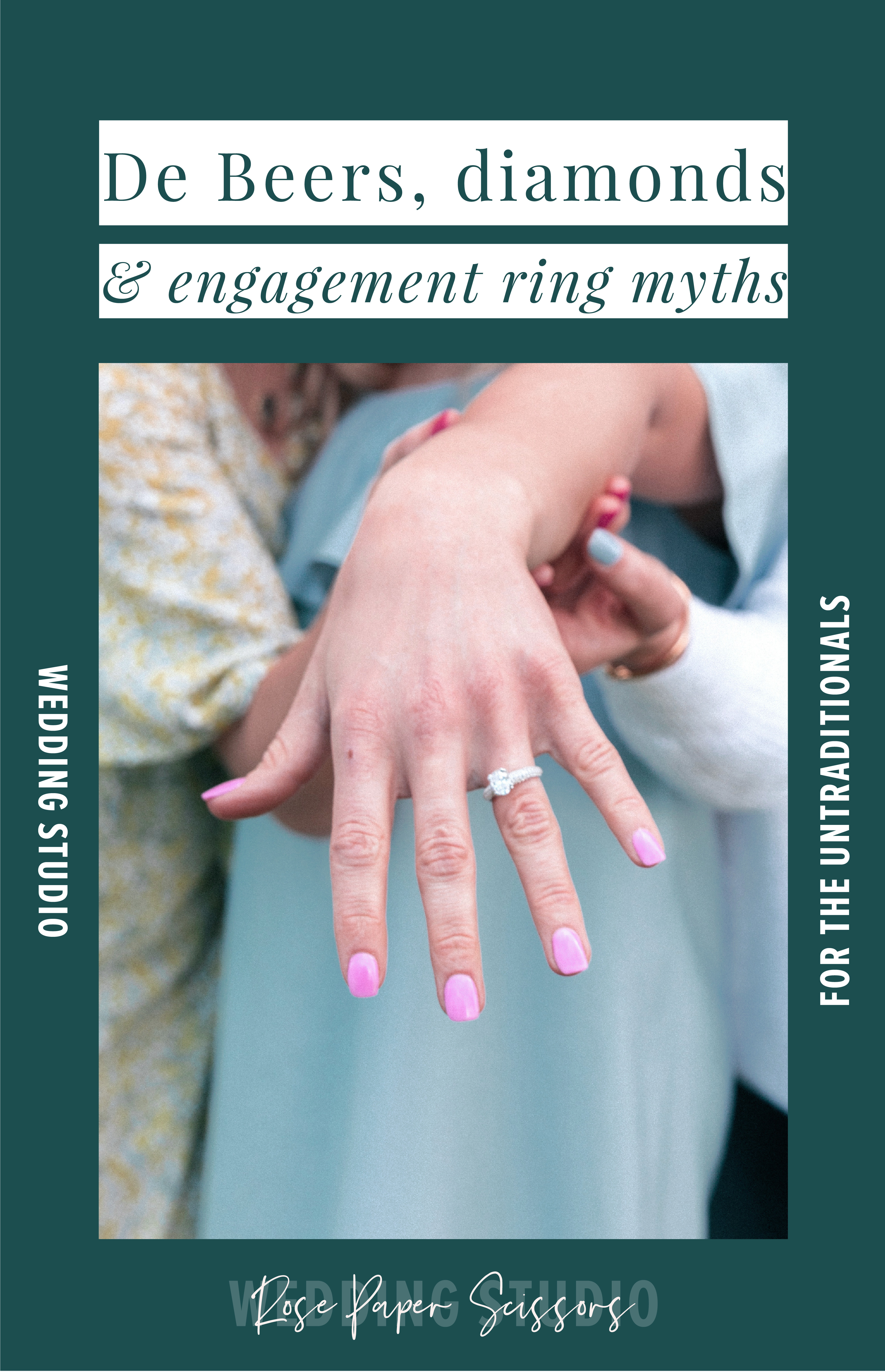 De Beers diamonds and engagement ring myths