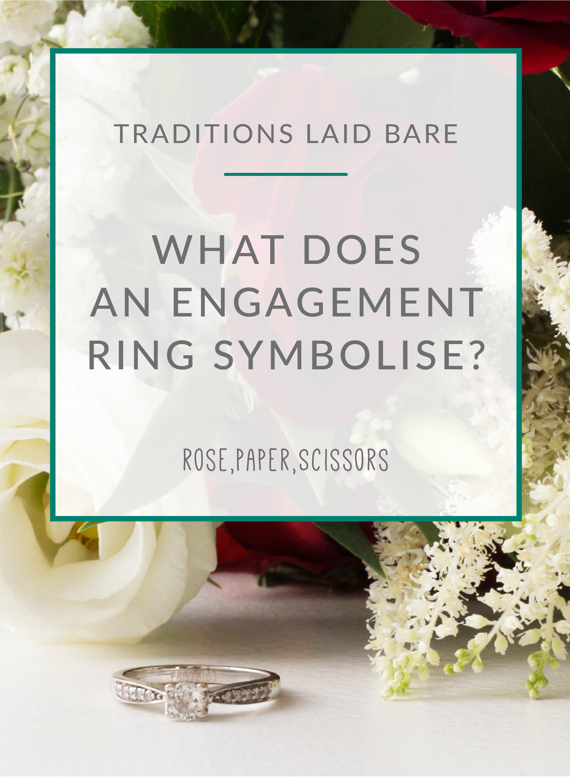 WHAT DO ENGAGEMENT RINGS SYMBOLISE?