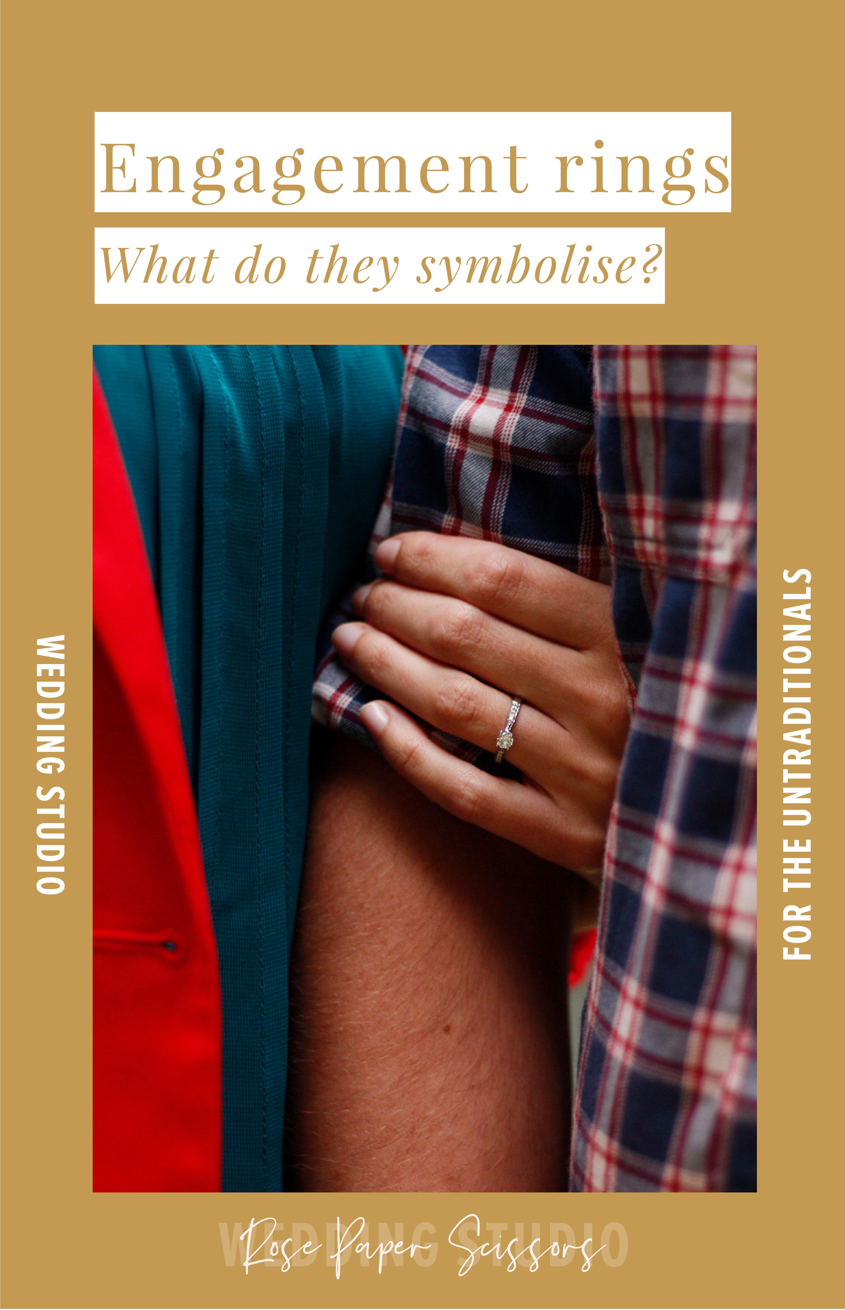 what do engagement rings symbolise