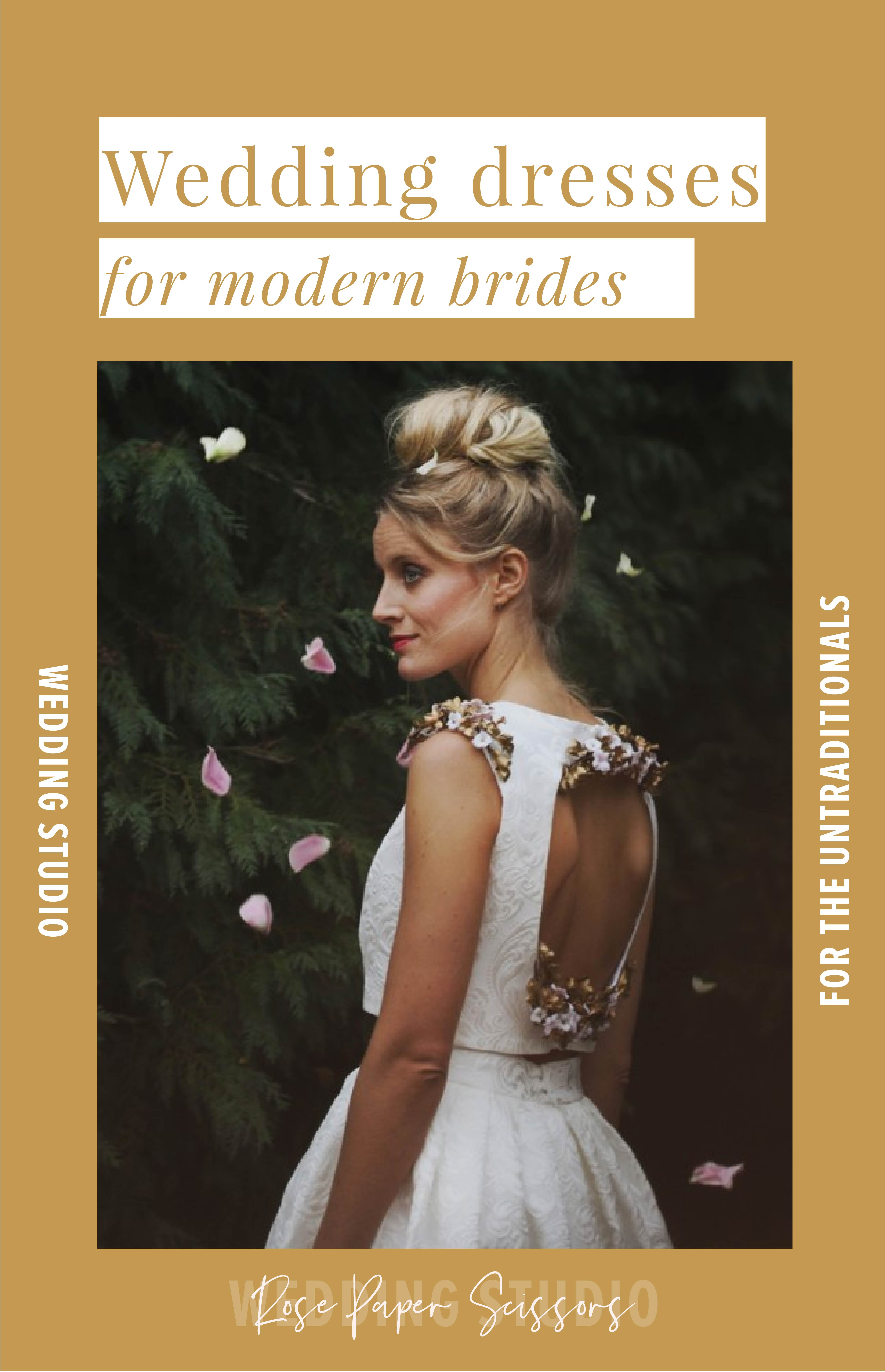 c2f3f82b7e The Modern Bride: Best Wedding Dresses for the Untraditional Bride