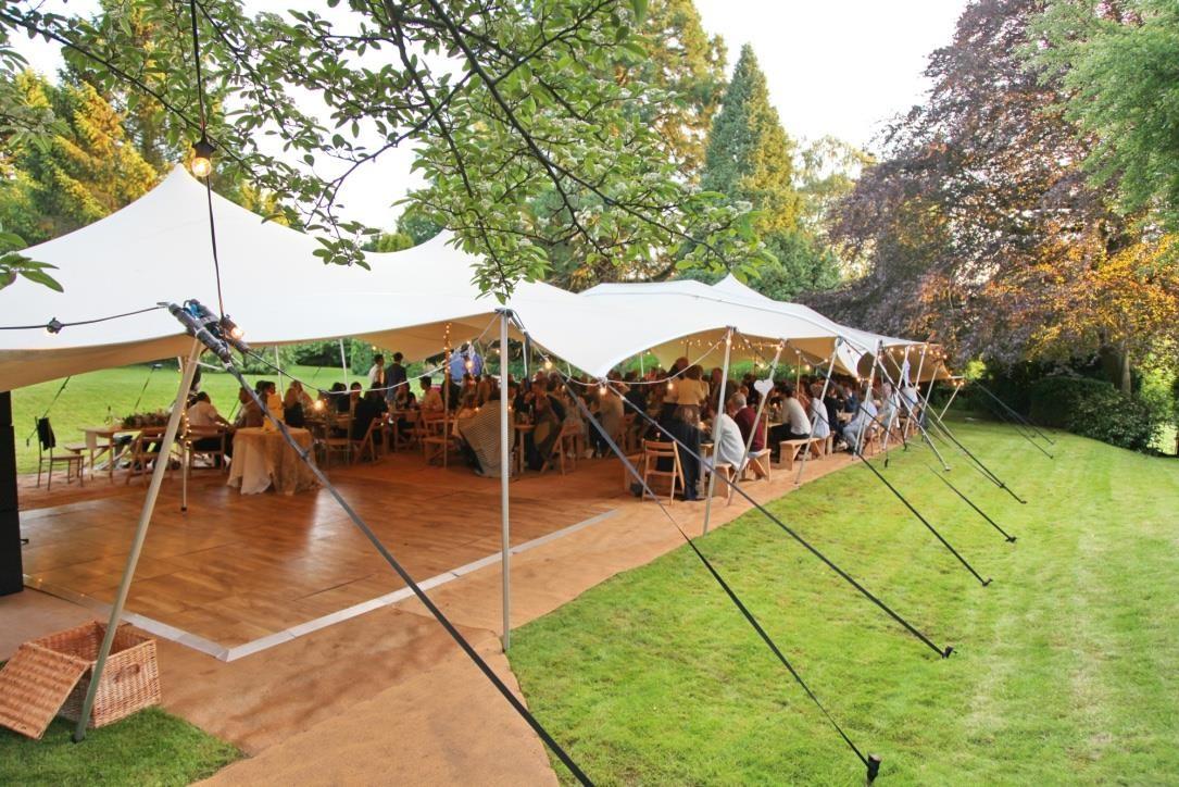 Garden party wedding