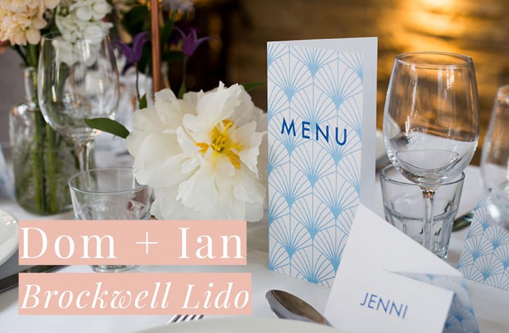 Brockwell Lido Wedding