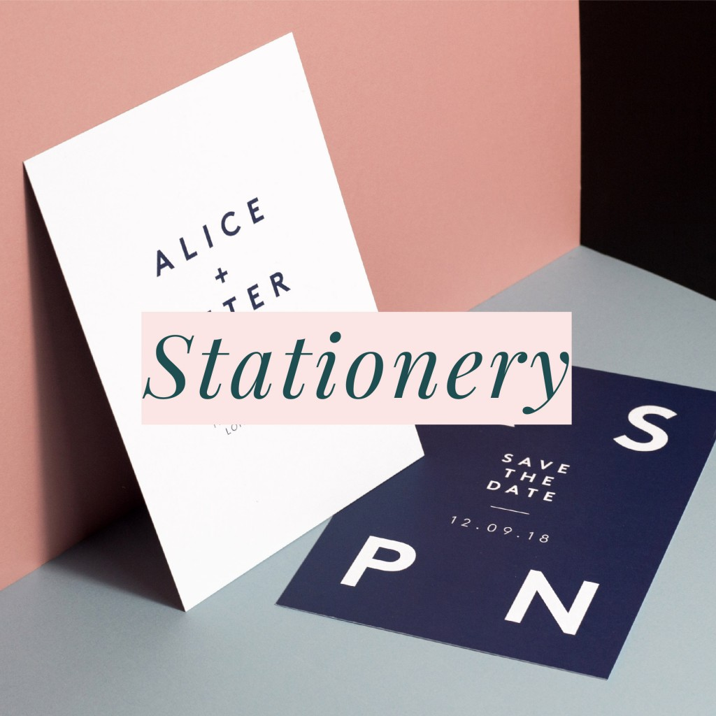 Wedding Stationery- bespoke and pre-designed studio collections - www.rosepaperscissors.com