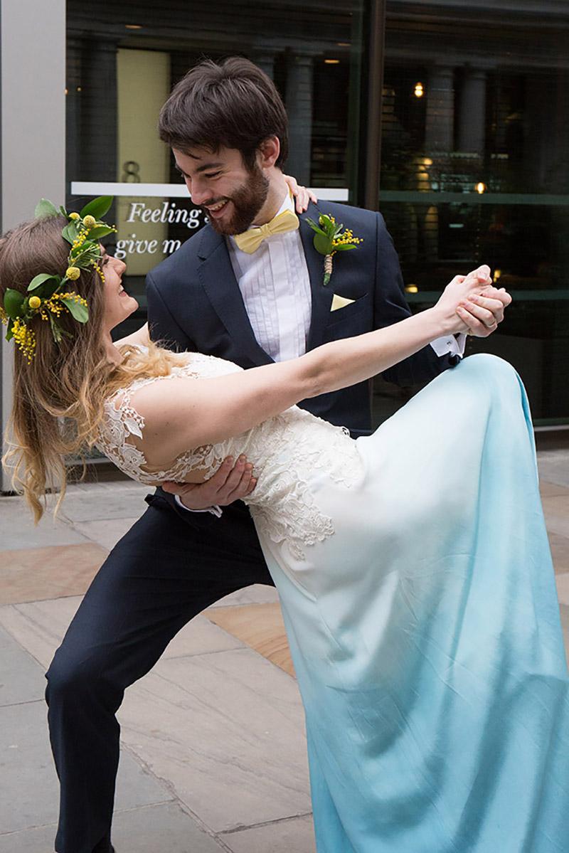 Blue Wedding Dress Color Scheme Ficts