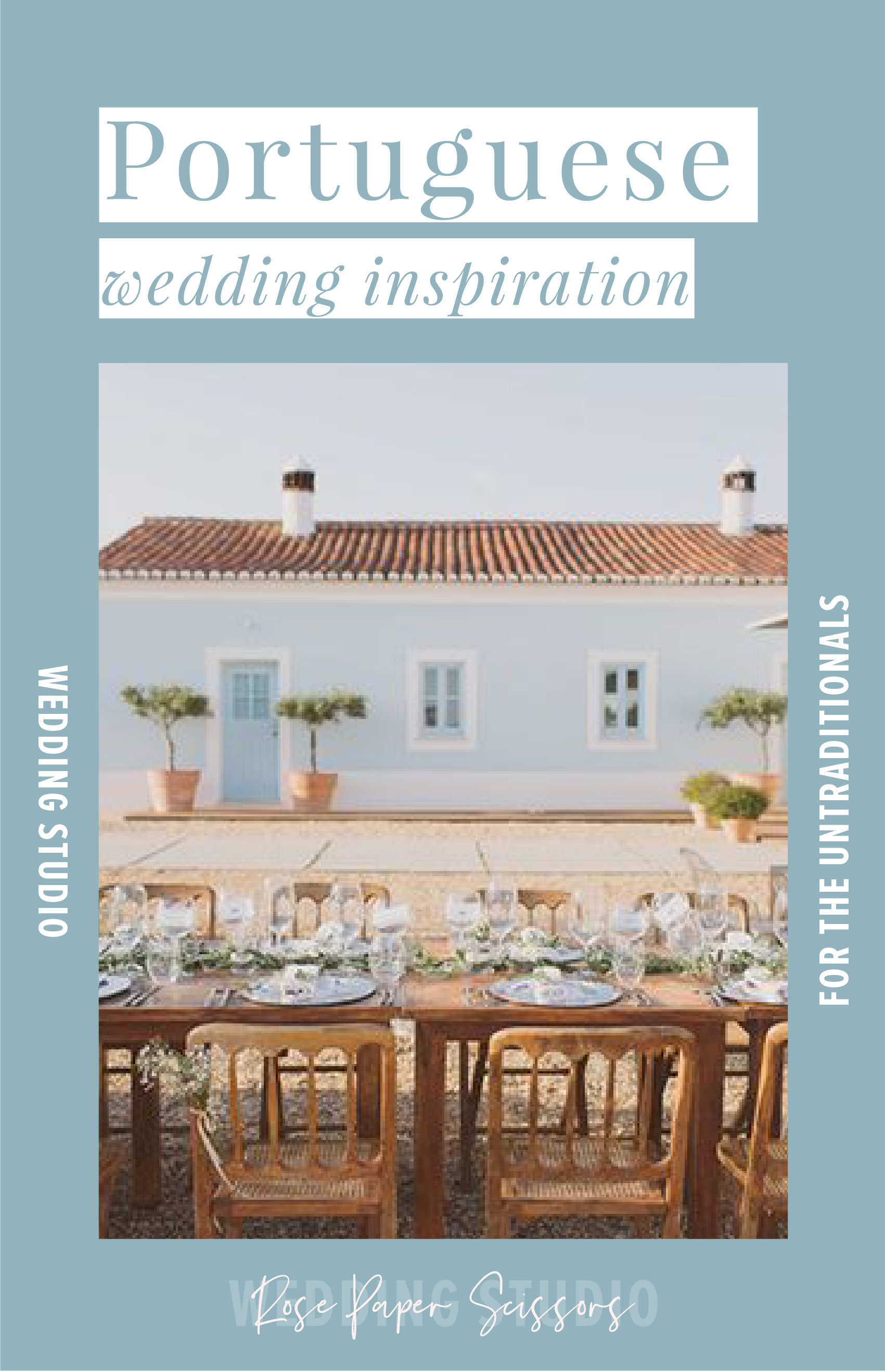 Portuguese wedding inspiration for destination weddings in Portugal