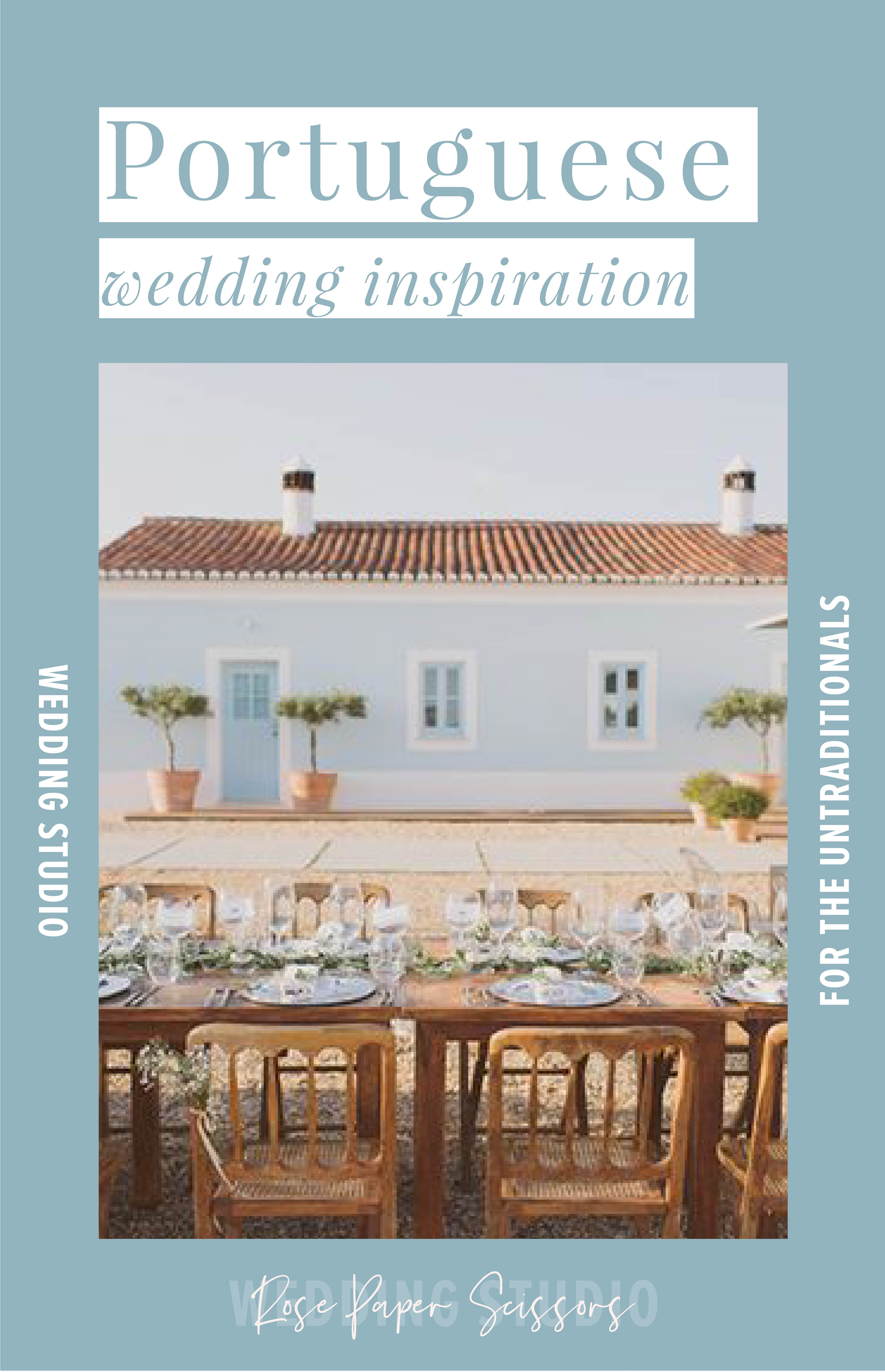 Portuguese wedding inspiration