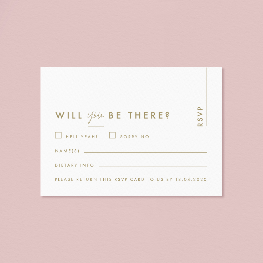 Letterpress Anthurium Flamingo flower Laceleaf modern Wedding invitation RSVP card